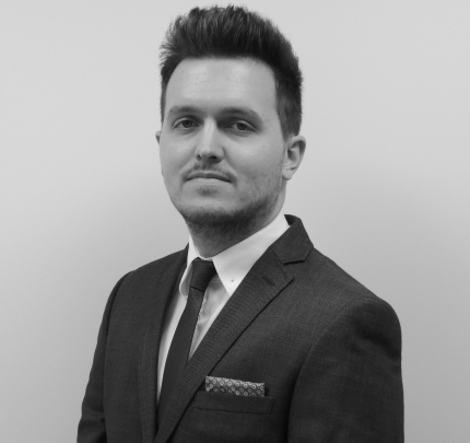 Young professional Ben Revell of Aston Shaw
