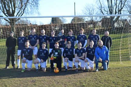 Photo of AFC Norwich, a local Norwich football team sponsored by Aston Shaw.