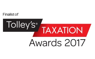 Tolley's Taxation Awards Finalist Logo