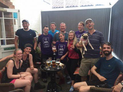 Aston Shaw EACH Charity Walk 2017