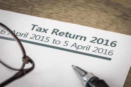 Self Assessment Tax Return 2016