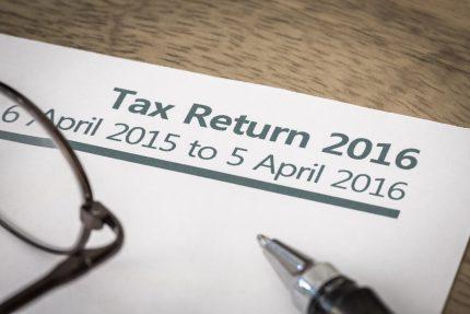 Self Assessment Tax Return 2016