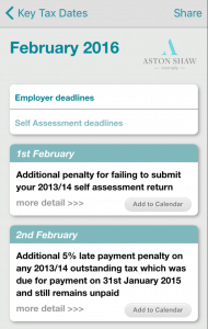 Download our Tax Calculator App Now - Aston Shaw