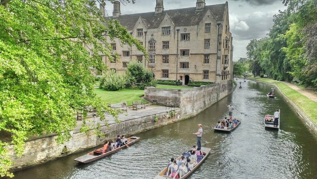 River in Cambridge Punting