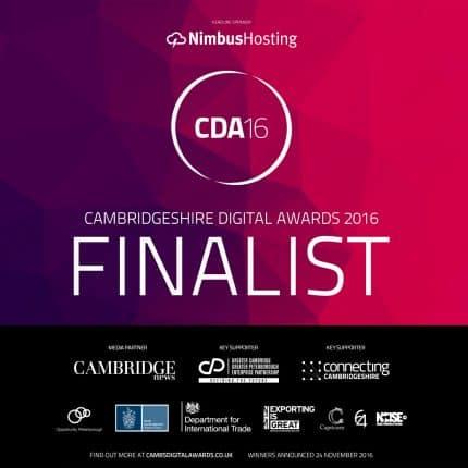 Cambridgeshire Digital Awards 2016