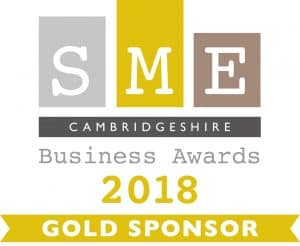 Aston Shaw Sponsor SME Cambridgeshire Business Awards 2018
