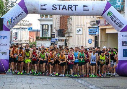 Run Norwich Start Point