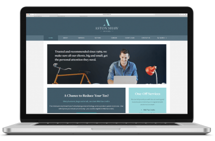 Aston Shaw New Website