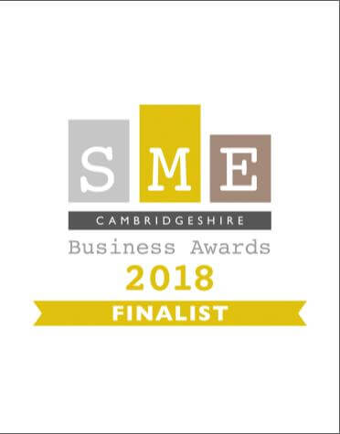 SME Cambridgeshire Business Award Finalist 2018 Logo
