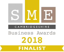 SME Cambs Business Award Finalist 2018