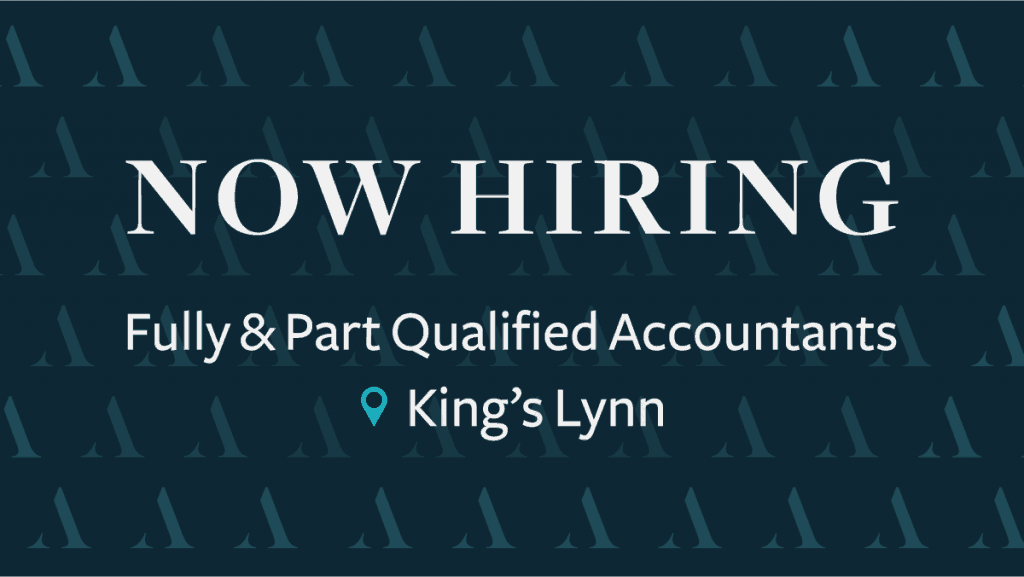 Now Hiring for Qualified Accountant in King's Lynn
