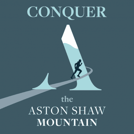 Aston Shaw Mountain Artwork (Square)
