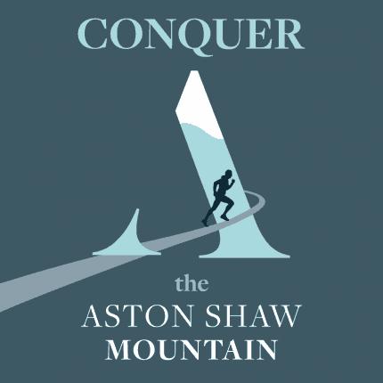 Aston Shaw Mountain Artwork (Square)