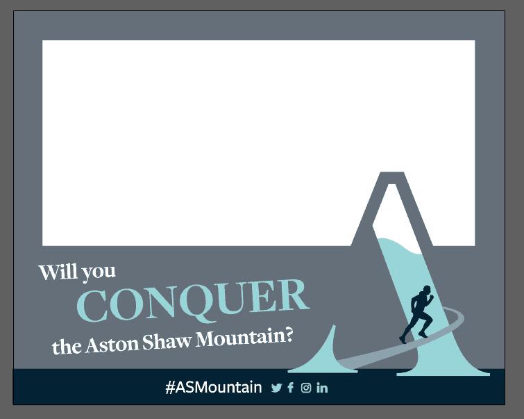 Aston Shaw Mountain Selfie Frame