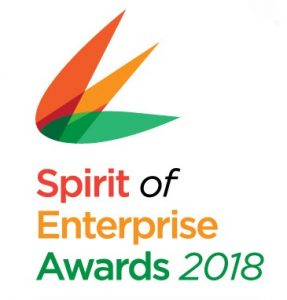 Spirit of Enterprise Awards 2018 Logo