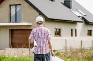 Architect Assessing Property Development