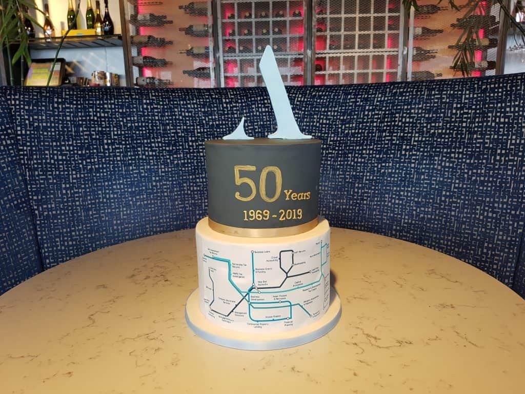 Aston Shaw's 50th Anniversary Cake