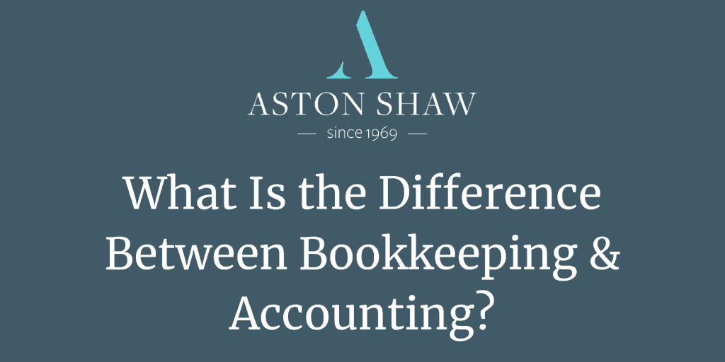What Is the Difference Between Bookkeeping & Accounting?