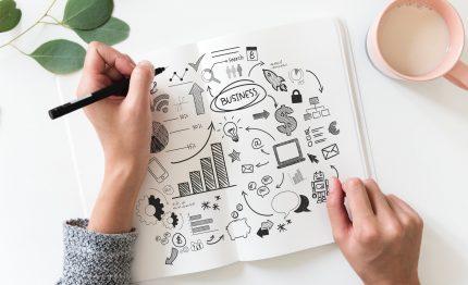 brainstorming-business-plan-close-up