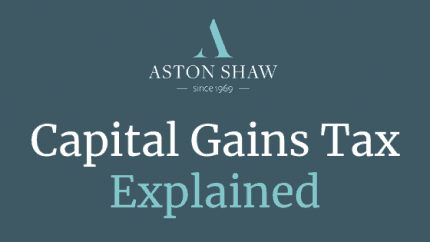 Capital Gains Tax Explained