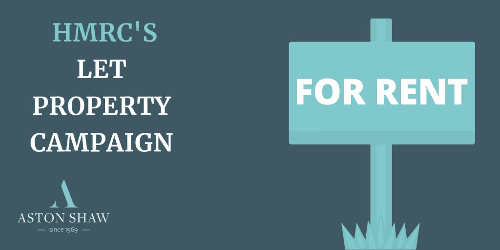 HMRC'S Let Property Campaign
