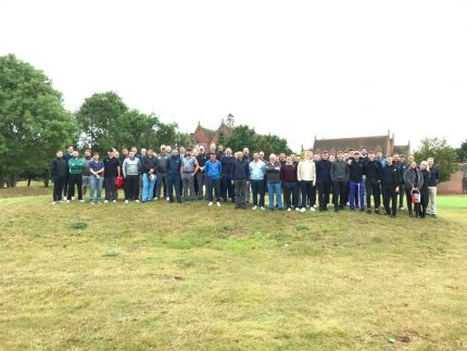 Photo Of Participants at Aston Shaw's Charity Golf DFay