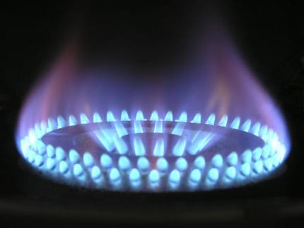 Photo of Lit Gas Hob