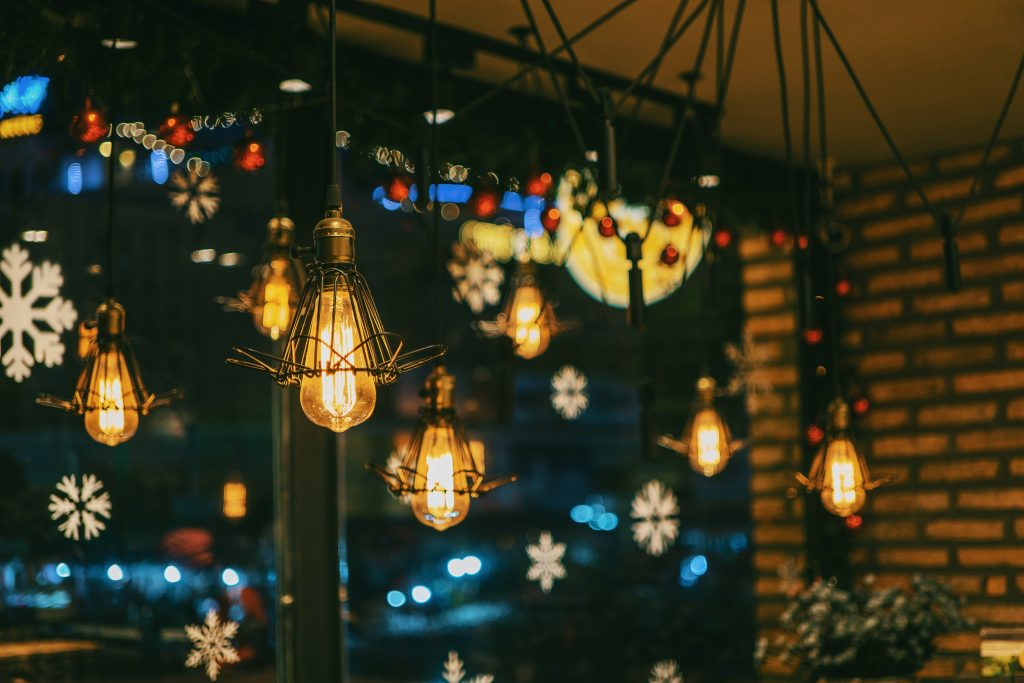 An image of festive lights, which this client can now use at a cheaper price.